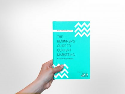 Download our FREE eBook, The Beginner's Guide to Content Marketing